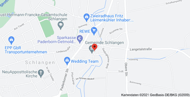 Google-Anfahrtskizze